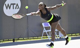 VIDEO | Serena Williams kaotas maailma 116. reketile, 16-aastane imelaps poolfinaalis