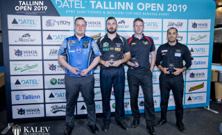 Kõrgetasemelise Tallinna piljarditurniiri võit läks Soome