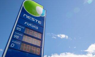 ФОТО | Топливо на автозаправках Таллинна подорожало