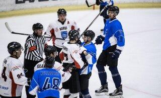 TÄNA DELFI TV-s | Kas Narva PSK alistab HK Vikingi kolmandat korda ning lõpetab poolfinaalseeria?