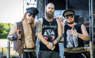 FOTOD | Päike paitab habet ja õlu on külm! Raskemuusikasõbrad on HRLi jõudnud ja naudivad festivali täiel rinnal