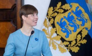 President Kaljulaid sõidab reedel töövisiidile Leetu