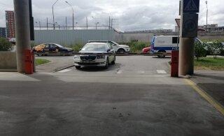 В Ласнамяэ был замечен мужчина с предметом, похожим на пистолет. Полиция отреагировала большими силами