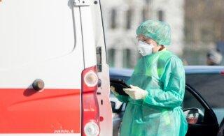 GRAAFIK | Ööpäevaga lisandus kaks positiivset koroonaviiruse testi, haiglaravi vajab 39 inimest