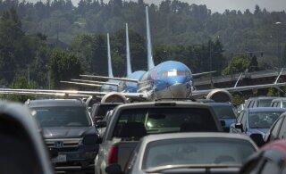 Angaarid otsas? Boeingu vigased lennukid ootavad autoparklas probleemide lahenemist