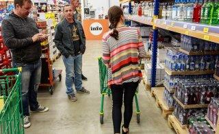 Eestlased ostavad Lätist alkoholi organiseeritult ja üha rohkem