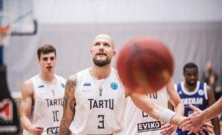 TÄNA DELFI TV-s | Kaks järjestikust kaotust saanud Pärnu ja Tartu üritavad kolmandat vältida