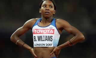 Politsei edastas Bianca Williamsile vabandused, sprinter ei lepi sellega