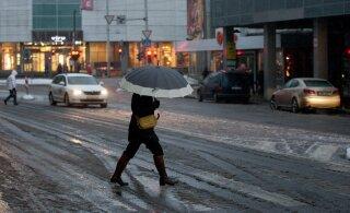 Осторожно на дорогах! В ближайшие дни в стране ожидается мокрый снег, дождь и сильный ветер