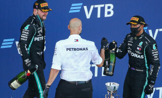 Mercedes ületas Sotši vormel-1 etapil Ferrari rekordi