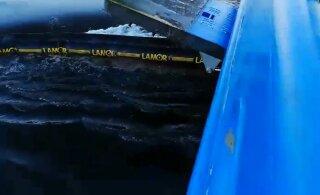 Нарвский залив загрязняют нефтепродукты с затонувших немецких кораблей