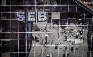 Финансовая инспекция за нарушение оштрафовала банк SEB на 2500 евро