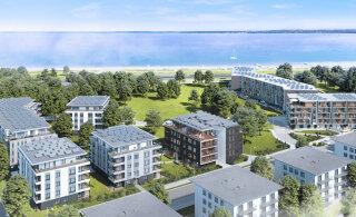 ФОТО | Заложен краеугольный камень предпоследнего этапа проекта развития нового квартала в Кадриорге