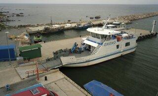Pranglilasi teenindav parvlaev Wrangö läks rikki, reisijaid teenindab postipaat Helge