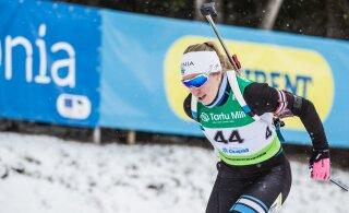 Эстонские биатлонисты неудачно выступили в спринте