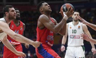 VIDEO | CSKA alistas Euroliiga põnevuslahingus Anadolu Efesi, liider Fenerbahce ei vääratanud