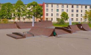Управа Пыхья-Таллинна открыла в Копли парк экстремальных видов спорта