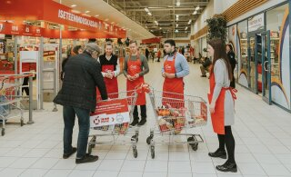 Нуждающихся в помощи стало больше. В супермаркетах Rimi появятся корзины для пожертвований