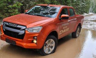 VIDEO | Autoarvustus: veoauto geenitega töömasin Isuzu D-Max ei jätta hätta isegi Kõrvemaa metsateedel