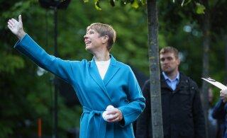 Завтра на рассвете Керсти Кальюлайд утвердит новое правительство