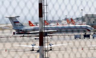 Venezuelas maandusid Vene sõjaväe lennukid sõdurite ja varustusega