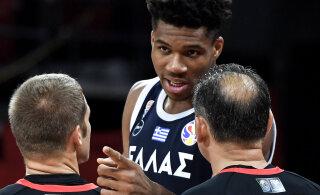 MMil konkurentsist langenud Kreeka korvpallikoondis nõuab kohtunike karistamist