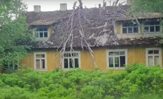 ВИДЕО | Посёлок-призрак в Эстонии: брошенные дома и опустевший город