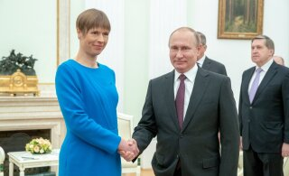 ПРОТОКОЛ ВСТРЕЧИ: О чем именно говорили Кальюлайд и Путин?