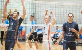 Võrkpalli Credit24 meistriliigas tuleb tihe nädalavahetus, keskses mängus kohtuvad Saaremaa ja Tartu