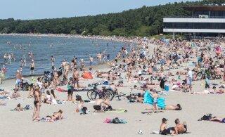 Nädalavahetus tervitab lämbe rannailmaga, sooja võib tulla üle 30 kraadi