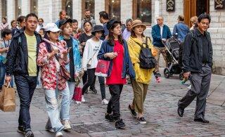 Koroonakriis jättis Eesti esimeses kvartalis ilma 200 000 turistist