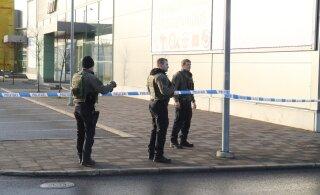 ФОТО | В Ласнамяэ эвакуировали магазин из-за подозрительной коробки