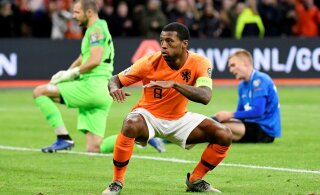 ФОТО: Сборная Эстонии завершила отборочный турнир крупным поражением