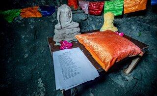 ФОТО | В каменной пещере под Таллинном спрятана таинственная святыня. Никто не знает, как она туда попала