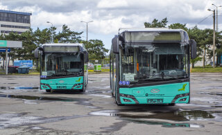 ФОТО | В Таллинне уже тестируют первые газовые автобусы. Смотрите, как они выглядят