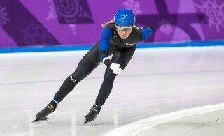 Saskia Alusalu uuendas Calgarys veel ühte Eesti rekordit