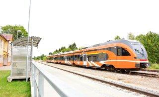 Elron: rongijuht andis ülekäigule lähenedes mitu korda vilet