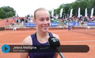 DELFI VIDEO | Elena Malõgina: tunne on imeline, tahtsin seda turniiri väga võita!
