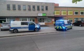 ФОТО | В Пыхья-Таллинне мужчина угрожал аптекарю, чтобы получить лекарства. Полиция ищет виновного