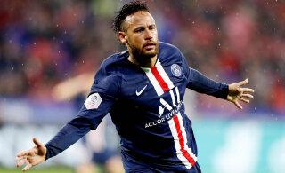 VIDEO | Neymar päästis PSG-le taas viimaste minutite väravaga võidu