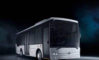 Предназначенные для Пярнумаа новые автобусы из-за чрезвычайного положения застряли в Турции