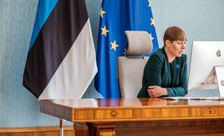 Президент Кальюлайд призвала оставшихся без работы людей обратить свой взгляд на сельское хозяйство