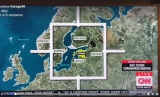 Eesti jõudis oma ebatavalise kriisilahenduste otsimise üritusega CNNi ekraanile