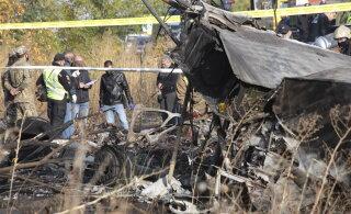 Момент крушения самолета Ан-26 в Украине попал на видео