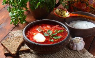 Украинский борщ занял 3-е место в рейтинге самых вкусных супов мира
