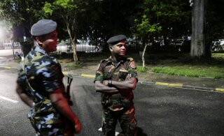 Возле церкви на Шри-Ланке взорвался грузовик