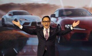 Toyota boss Akio Toyoda: Tänaku võit tõi meelde häid mälestusi