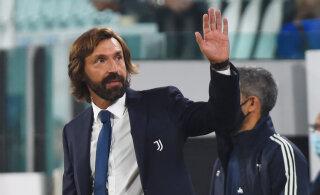 Esimest korda ametlikus mängus peatreener olnud Andrea Pirlo maitses Juventusega võidurõõmu