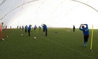 Nelja Eesti linna ehitatakse järgmisel aastal jalgpallihallid