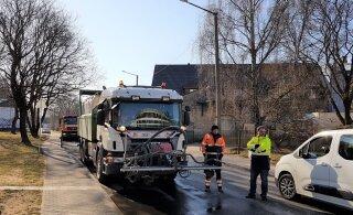 Уборка многих улиц в центре столицы пошла по второму кругу